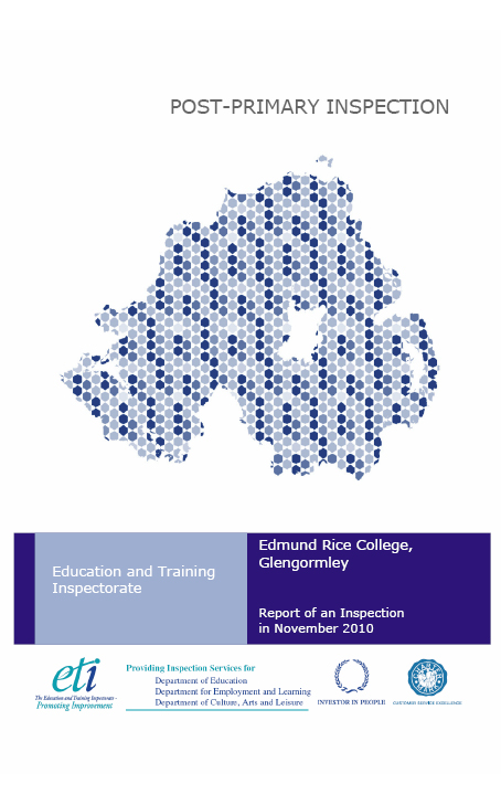 Education and Training Inspectorate - Post Primary Inspection