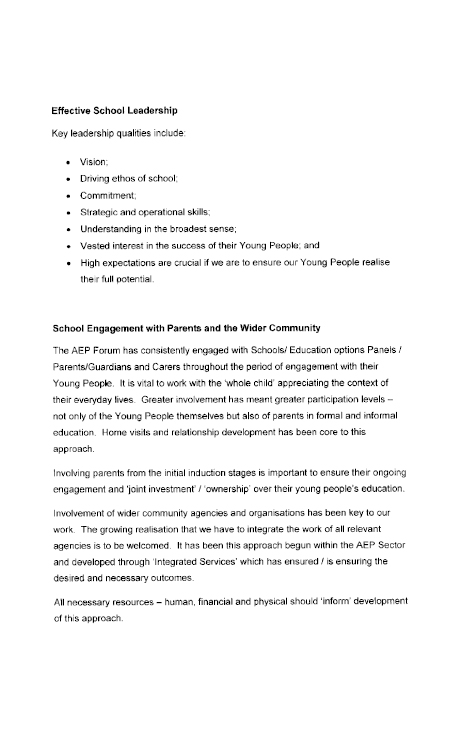 West Belfast Partnership submission