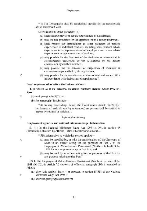 Employment Bill (as introduced)