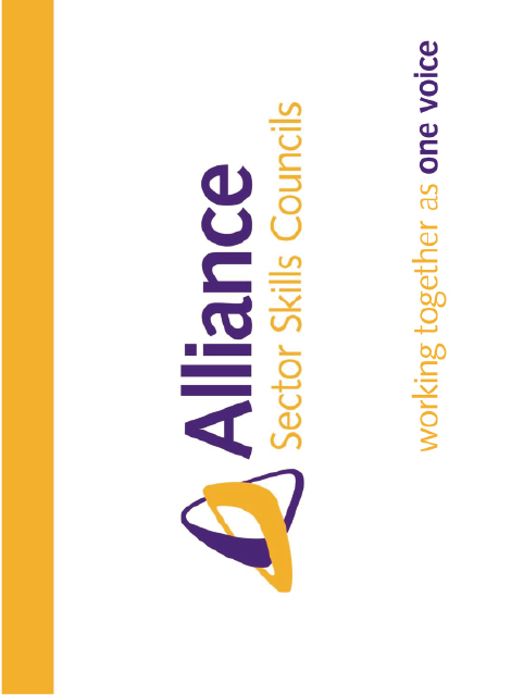 Alliance of Sector Skills Council