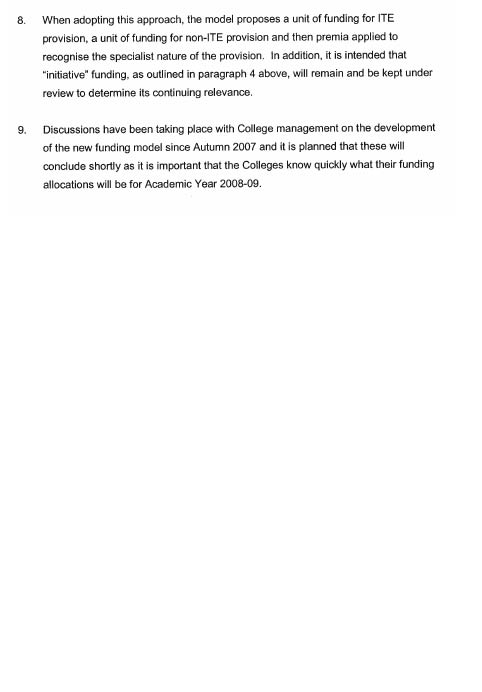 Committee for Employment and Learning Report - Report on the Review of  Teacher Training 8c404f13b98