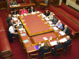 Committee for Employment and Learning meeting in the Senate Chamber