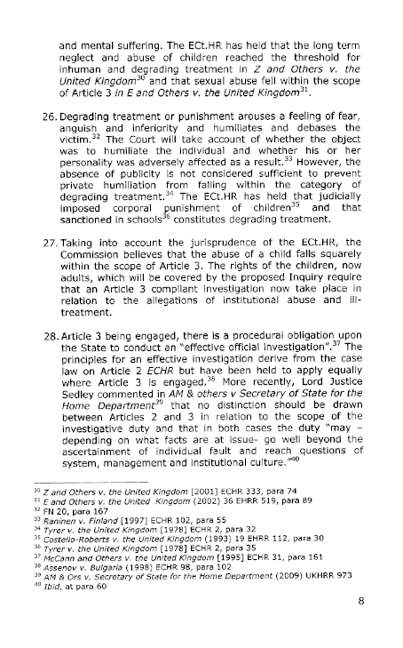 Northern Ireland Human Rights Commission submission