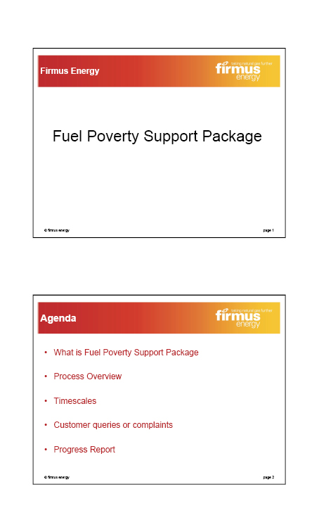 Firmus Energy submission